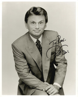 PAT SAJAK - AUTOGRAPHED INSCRIBED PHOTOGRAPH