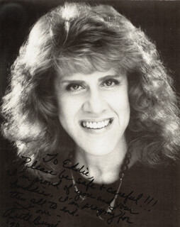 RUTH BUZZI - AUTOGRAPHED INSCRIBED PHOTOGRAPH 1990