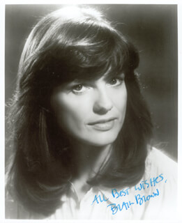 BLAIR BROWN - AUTOGRAPHED SIGNED PHOTOGRAPH