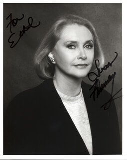 SUSAN FLANNERY - AUTOGRAPHED INSCRIBED PHOTOGRAPH