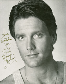 SCOTT THOMPSON BAKER - AUTOGRAPHED INSCRIBED PHOTOGRAPH