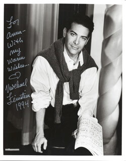 MICHAEL FEINSTEIN - AUTOGRAPHED INSCRIBED PHOTOGRAPH 1994