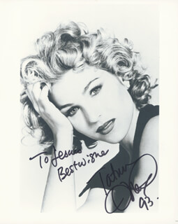 TATUM O'NEAL - AUTOGRAPHED INSCRIBED PHOTOGRAPH 1993
