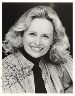 BONNIE BARTLETT - AUTOGRAPHED INSCRIBED PHOTOGRAPH