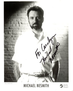 MICHAEL NESMITH - AUTOGRAPHED INSCRIBED PHOTOGRAPH