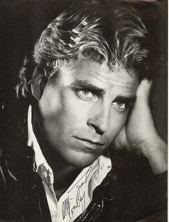 TED McGINLEY - MAGAZINE PHOTOGRAPH SIGNED