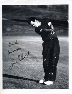 LOREN ROBERTS - AUTOGRAPHED INSCRIBED PHOTOGRAPH