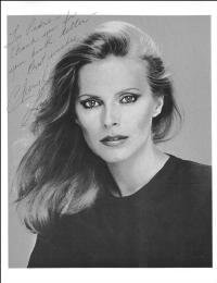 CHERYL LADD - INSCRIBED MAGAZINE PHOTO SIGNED