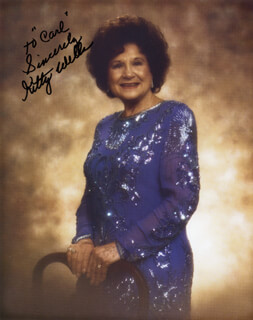 KITTY WELLS - AUTOGRAPHED INSCRIBED PHOTOGRAPH