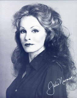 JULIE NEWMAR - AUTOGRAPHED SIGNED PHOTOGRAPH