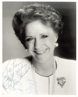 NINA BLANCHARD - AUTOGRAPHED INSCRIBED PHOTOGRAPH