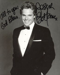 JOSEPH BOTTOMS - AUTOGRAPHED SIGNED PHOTOGRAPH