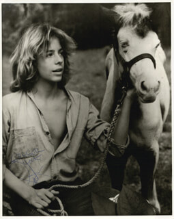 LEIF GARRETT - AUTOGRAPHED INSCRIBED PHOTOGRAPH