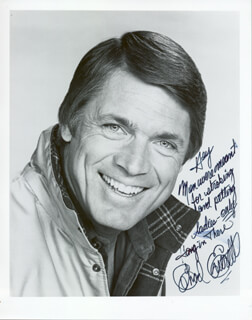 CHAD EVERETT - AUTOGRAPHED SIGNED PHOTOGRAPH