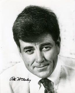 PAUL N. PETE McCLOSKEY JR. - AUTOGRAPHED SIGNED PHOTOGRAPH