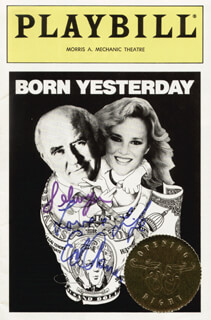ED ASNER - INSCRIBED PROGRAM SIGNED