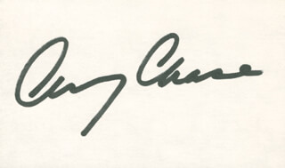 CHEVY CHASE - AUTOGRAPH