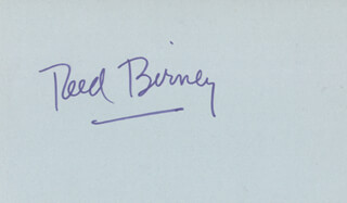 REED BIRNEY - AUTOGRAPH