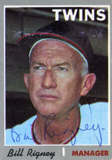 BILL SPECS-THE CRICKET RIGNEY - TRADING/SPORTS CARD SIGNED