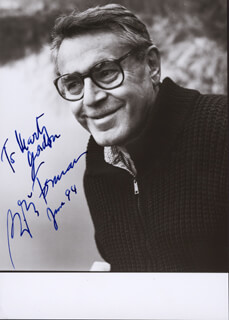 MILOS FORMAN - AUTOGRAPHED INSCRIBED PHOTOGRAPH 6/1994