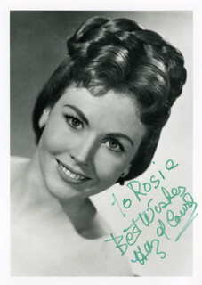 HAZEL COURT - AUTOGRAPHED INSCRIBED PHOTOGRAPH