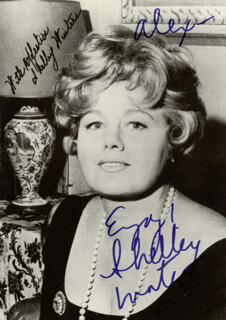 SHELLEY WINTERS - AUTOGRAPHED INSCRIBED PHOTOGRAPH