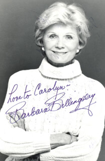BARBARA BILLINGSLEY - INSCRIBED PHOTOGRAPH SIGNED TWICE