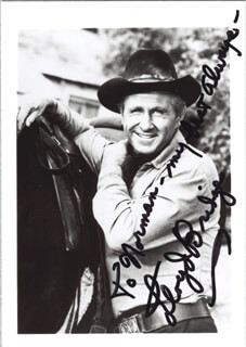 LLOYD BRIDGES - AUTOGRAPHED INSCRIBED PHOTOGRAPH