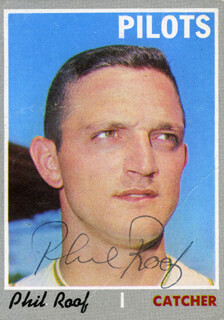 PHIL ROOF - TRADING/SPORTS CARD SIGNED