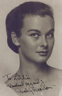 AUDREY DALTON - AUTOGRAPHED INSCRIBED PHOTOGRAPH