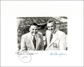 ARA R. PARSEGHIAN - AUTOGRAPHED SIGNED PHOTOGRAPH CO-SIGNED BY: KEITH JACKSON