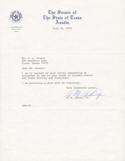 A. M. AIKIN JR. - TYPED LETTER SIGNED 07/24/1972