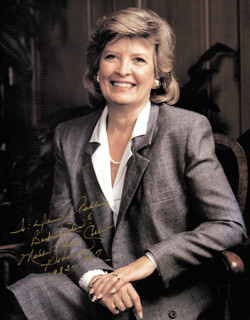 GOVERNOR MARTHA COLLINS - AUTOGRAPHED INSCRIBED PHOTOGRAPH