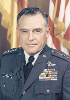 GENERAL JOHN D. LAVELLE - AUTOGRAPHED INSCRIBED PHOTOGRAPH