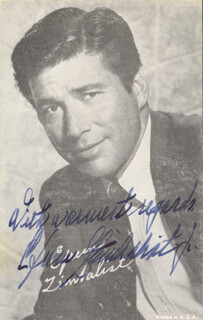 EFREM ZIMBALIST JR. - PRINTED PHOTOGRAPH SIGNED IN INK