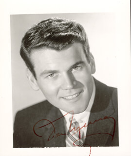 DON MURRAY - AUTOGRAPHED SIGNED PHOTOGRAPH CIRCA 1957