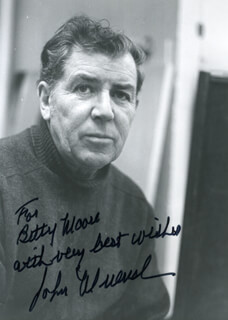 JOHN MUENCH - AUTOGRAPHED INSCRIBED PHOTOGRAPH