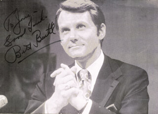 BILL BEUTEL - PICTURE POST CARD SIGNED CIRCA 1973