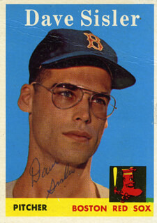 DAVE SISLER - TRADING/SPORTS CARD SIGNED