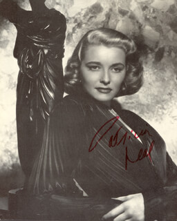 PATRICIA NEAL - MAGAZINE PHOTOGRAPH SIGNED