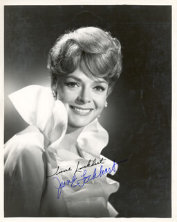 JUNE LOCKHART - AUTOGRAPHED SIGNED PHOTOGRAPH  - HFSID 216807