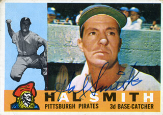 HAL SMITH - TRADING/SPORTS CARD SIGNED
