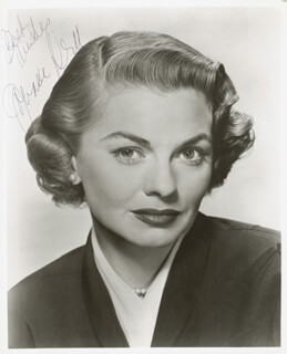 JOANNE DRU - AUTOGRAPHED SIGNED PHOTOGRAPH