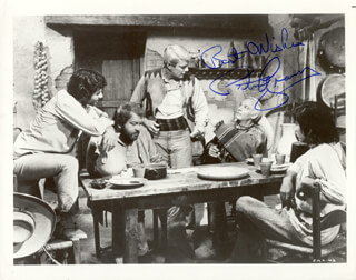 PETER GRAVES - AUTOGRAPHED SIGNED PHOTOGRAPH