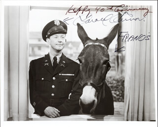 DONALD O'CONNOR - AUTOGRAPHED SIGNED PHOTOGRAPH