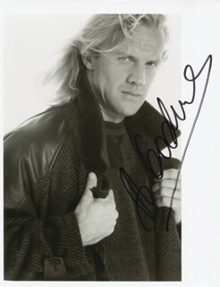ALEXANDER GODUNOV - AUTOGRAPHED SIGNED PHOTOGRAPH