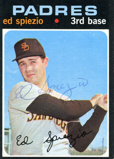 ED SPIEZIO - TRADING/SPORTS CARD SIGNED