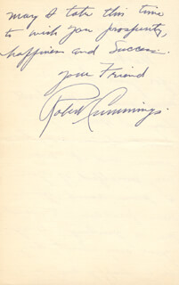 ROBERT BOB CUMMINGS - AUTOGRAPH LETTER SIGNED 06/16/1941