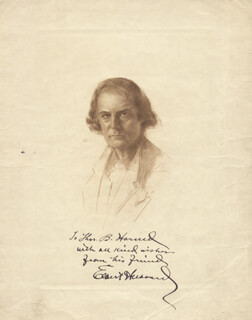 ELBERT HUBBARD - ILLUSTRATION SIGNED