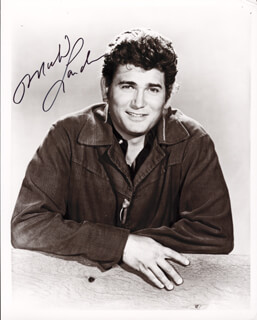 MICHAEL LANDON - AUTOGRAPHED SIGNED PHOTOGRAPH